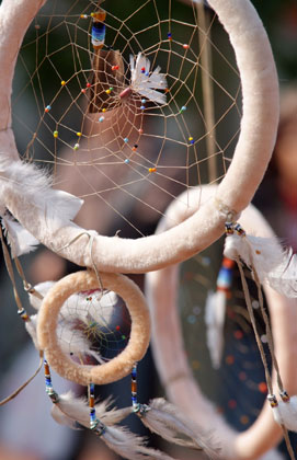 Image of a dreamcatcher