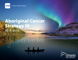 Image of the Aboriginal Cancer Strategy III document
